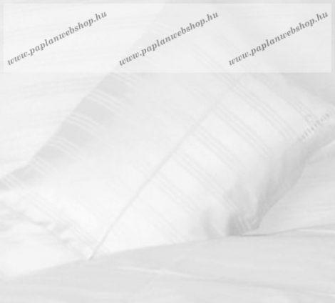 Billerbeck Réka pamut-szatén nagypárnahuzat, Habcsók/Fehér, 70x90 cm