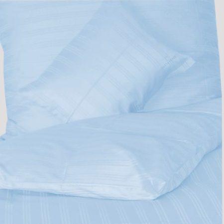 Billerbeck Réka pamut-szatén ágyneműhuzat, Macaron/Kék, 3 részes
