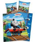 Thomas és barátai 2 részes ágyneműhuzat, 135x200 + 80x80 cm (100% pamut)