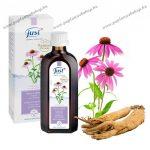 Erősítő fürdőesszencia Echinaceaval és Szibéria Ginzenggel, 75 ml - Just