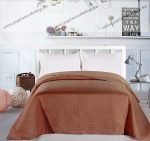 Elegancia ágytakaró, Barna, 240x260 cm (3151)