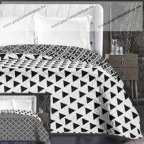 Elegancia Witchcraft ágytakaró, Fekete Háromszög, 240x260 cm (6629)