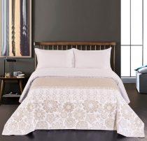 Elegancia Alhambra kétoldalas ágytakaró, White-Beige, 240x260 cm (2529)
