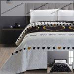 Elegancia ágytakaró, Love, 240x260 cm (2558)