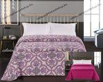 Elegancia ágytakaró, Purple Indás, 220x240 cm (2970)