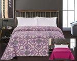 Elegancia ágytakaró, Purple indás, 240x260 cm (2987)