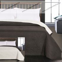 Elegancia Anthony ágytakaró, Black-White, 240x260 cm (5045)