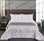 Elegancia Alhambra kétoldalas ágytakaró, White-Grey, 240x260 cm (7214)