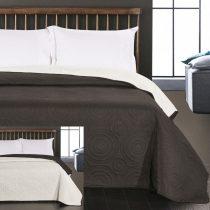 Elegancia Anthony ágytakaró, Black-White, 220x240 cm (9879)