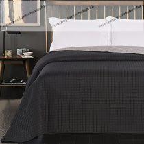 Elegancia ágytakaró, Paul/Fekete-ezüst, 220x240 cm (5800)