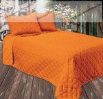 GINA ágytakaró, narancs, 210x240 cm