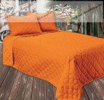GINA ágytakaró, narancs, 250x260 cm