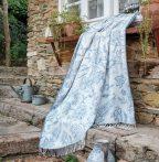 Tauern elegáns szürke pléd, 150x200 cm
