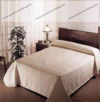 Pamut ágytakaró, Világosbarna, 160x240 cm
