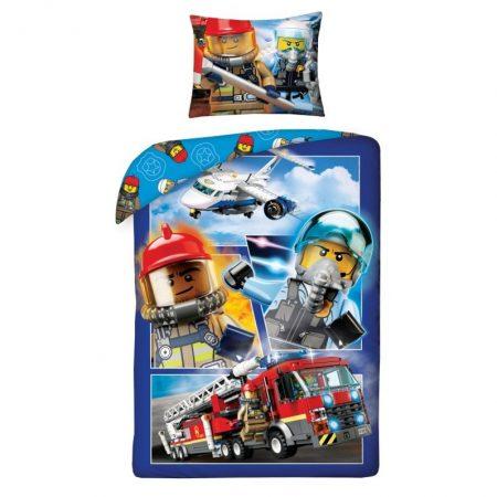 Lego city ágyneműhuzat, Fire engine (100% pamut) (822)
