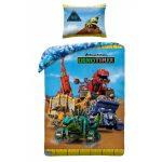 Dinotrux ágyneműhuzat (100% pamut)