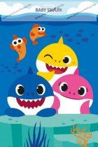 Baby Shark pléd, 100x150 cm