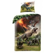 Jurassic World ágyneműhuzat garnitúra, T-rex (100% pamut) (500BL)