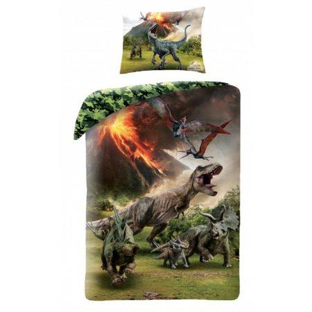 Jurassic World ágyneműhuzat garnitúra, T-rex (100% pamut) (41942)