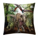 Jurassic World díszpárna, 40x40 cm