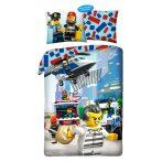 Lego city ágyneműhuzat, Rendőr és Tűzoltó (100% pamut) - 821