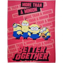 Minions/Minyonok pléd, Better Together, 130x170 cm