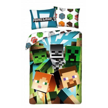 Minecraft ágyneműhuzat garnitúra, Steve és Alex (100 % pamut) (200)