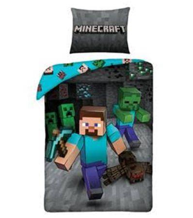 Minecraft ágyneműhuzat garnitúra, Pók/Spider (100 % pamut) (207)
