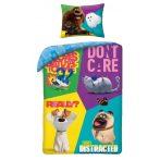 A kis kedvencek titkos élete/Pets ágyneműhuzat garnitúra, Kockák (100 % pamut) (705)