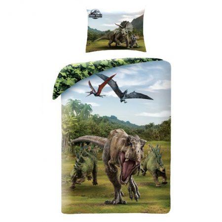 Jurassic World ágyneműhuzat garnitúra, Ősmadaraok (100% pamut) (46237)