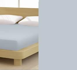 Jersey gumis lepedő, 90-100x200 cm, 150 g/nm, Grafitszürke (228)- Mr Sandman