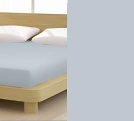 Jersey gumis lepedő, 180-200x200 cm, 150 g/nm, Szürke (228) - Mr Sandman