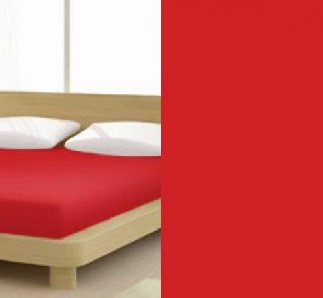 Jersey gumis lepedő, 180-200x200 cm, 150 g/nm, Rot/Piros (246) - Mr Sandman