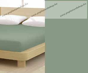 Jersey gumis lepedő, 90-100x200 cm, 150 g/nm, Jade zöld (257)- Mr Sandman