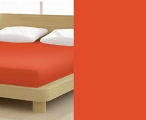 Jersey gumis lepedő, 90-100x200 cm, 150 g/nm, Karmin (264)- Mr Sandman