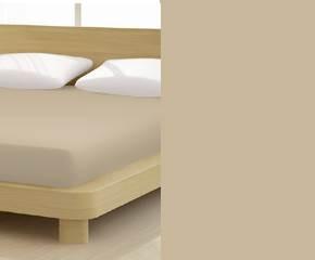 Jersey gumis lepedő, 90-100x200 cm, 150 g/nm, Capuccino (A)- Mr Sandman