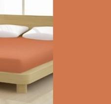Jersey gumis lepedő, 140-160x200 cm, 150 g/nm, Zimt/Fahéj (279)- Mr Sandman