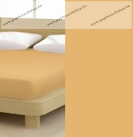 Jersey gumis lepedő, 180-200x200 cm, 150 g/nm, Bronz (216)- Mr Sandman