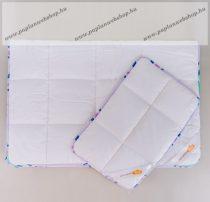 Szivárvány pamut gyerek garnitúra, 90x130+40x50cm (430+70 gramm) - Naturtex