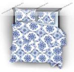 Naturtex Blue Paint pamut-szatén ágyneműhuzat, 5 részes (kétszemélyes)
