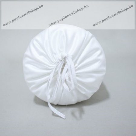 Fehér huzat hengerpárnához, 40x15 cm - Naturtex