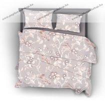 Naturtex Floral pamut-szatén ágyneműhuzat, 3 részes