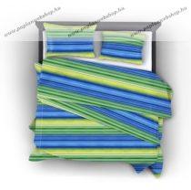 Naturtex Lime pamut-szatén ágyneműhuzat, 3 részes