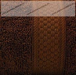 Frottír törölköző, Barna, 50x90 cm