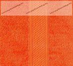Frottír törölköző, Narancs, 50x90 cm