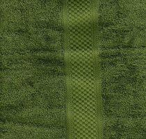 Frottír törölköző, Zöld, 50x90 cm
