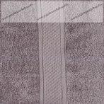 Frottír törölköző, Szürke, 50x90 cm