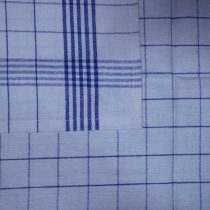 Nagy kockás konyharuha, Kék, 50x70 cm