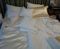 Sunnysilk hernyóselyem paplan/takaró, 135x200 cm (1500 g)