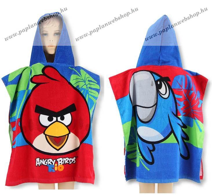 Angry Birds Poncsó Poncho törölköző - Paplan Webshop e9c47e0e41